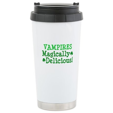 Vampires Magically Delicious Ceramic Travel Mug