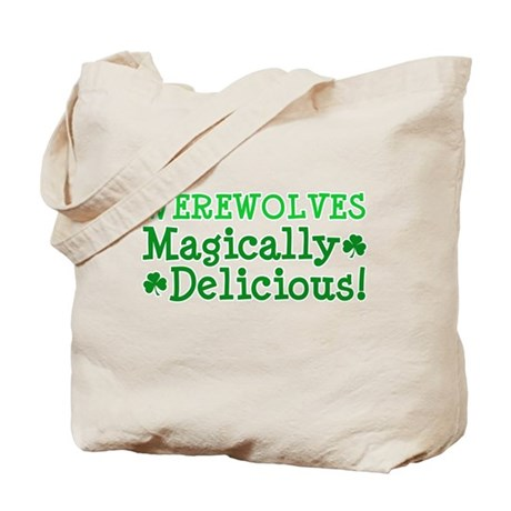 Werewolves Delicious Tote Bag