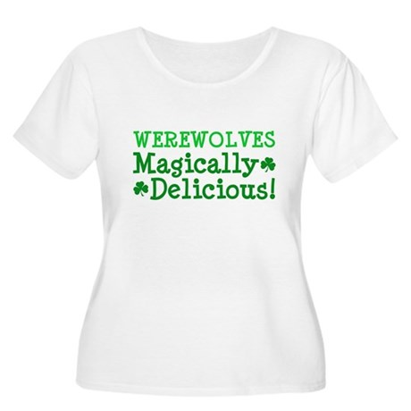 Werewolves Delicious Women's Plus Size Scoop Neck