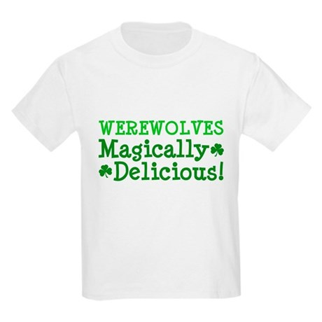 Werewolves Delicious Kids Light T-Shirt