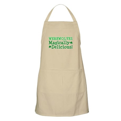 Werewolves Delicious BBQ Apron