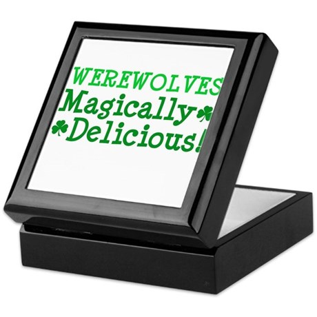 Werewolves Delicious Keepsake Box
