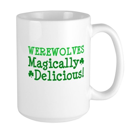 Werewolves Delicious Large Mug