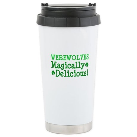 Werewolves Delicious Ceramic Travel Mug