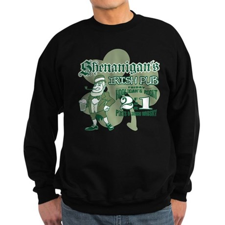 Shenanigan's Irish Pub (light Sweatshirt (dark)
