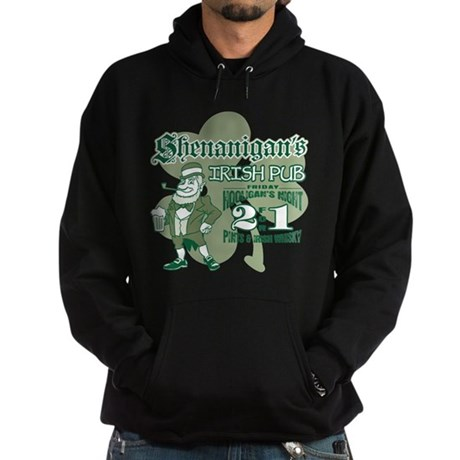 Shenanigan's Irish Pub (light Hoodie (dark)
