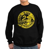 Wake &amp;amp; Bake Pizzeria (dark) Sweatshirt