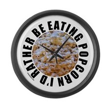 POPCORN Large Wall Clock