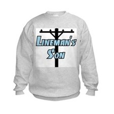 Lineman's son Sweatshirt
