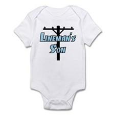 Lineman's son Infant Bodysuit