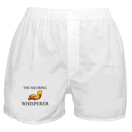 The Squirrel Whisperer Boxer Shorts