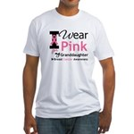 IWearPink Granddaughter Fitted T-Shirt