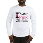 IWearPink Granddaughter Long Sleeve T-Shirt