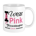 IWearPink Granddaughter Mug