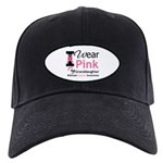 IWearPink Granddaughter Black Cap