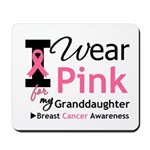IWearPink Granddaughter Mousepad