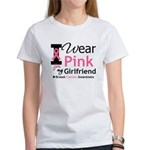 I Wear Pink Girlfriend Women's T-Shirt