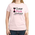 I Wear Pink Girlfriend Women's Light T-Shirt