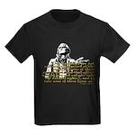 Jefferson Limits On Power Quo Kids Dark T-Shirt
