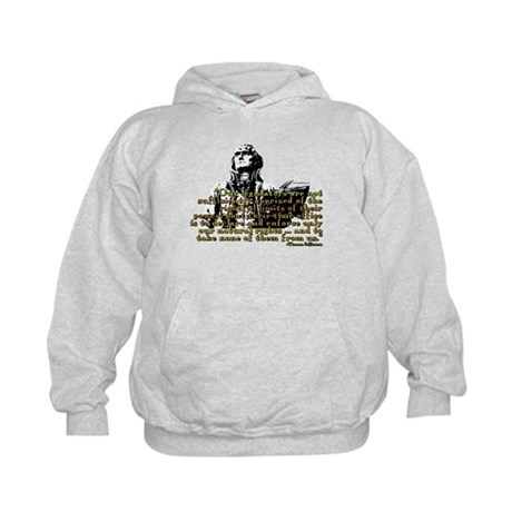 Jefferson Limits On Power Quo Kids Hoodie