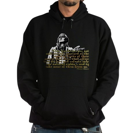 Jefferson Limits On Power Quo Hoodie (dark)