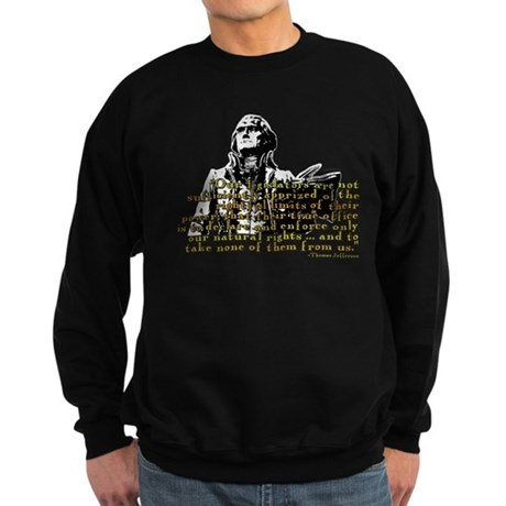 Jefferson Limits On Power Quo Sweatshirt (dark)