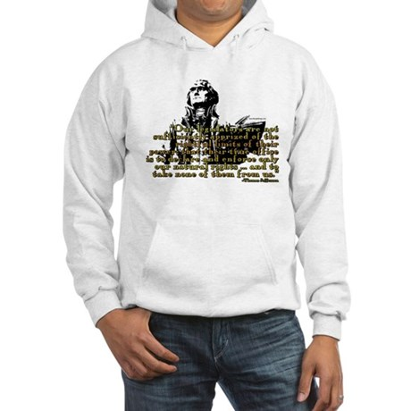 Jefferson Limits On Power Quo Hooded Sweatshirt