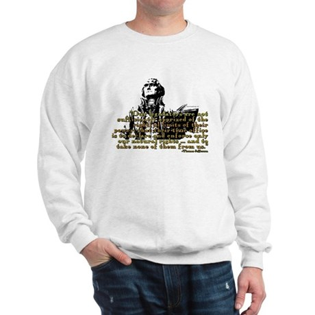 Jefferson Limits On Power Quo Sweatshirt