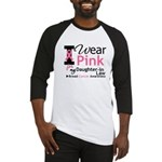 IWearPink Daughter-in-Law Baseball Jersey