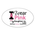 IWearPink Daughter-in-Law Oval Sticker (10 pk)