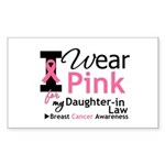 IWearPink Daughter-in-Law Rectangle Sticker 10 pk