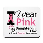 IWearPink Daughter-in-Law Mousepad