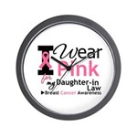 IWearPink Daughter-in-Law Wall Clock