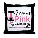 IWearPink Daughter-in-Law Throw Pillow