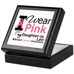 IWearPink Daughter-in-Law Keepsake Box