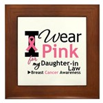 IWearPink Daughter-in-Law Framed Tile