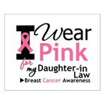 IWearPink Daughter-in-Law Small Poster