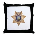 Wilson County Sheriff Throw Pillow