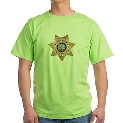 Wilson County Sheriff Green T-Shirt