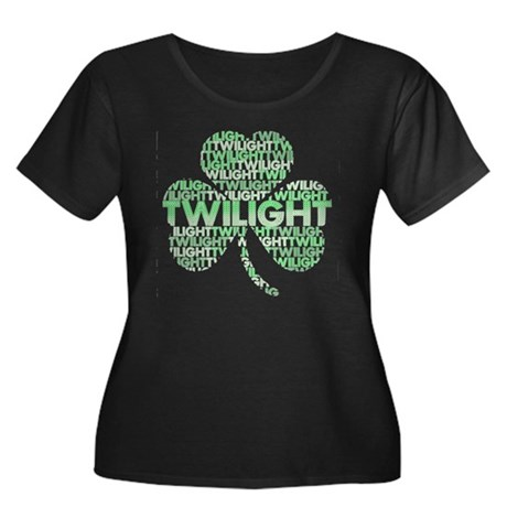 Twilight Shamrock Women's Plus Size Scoop Neck Dar
