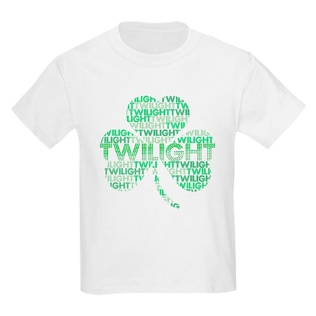 Twilight Shamrock Kids Light T-Shirt