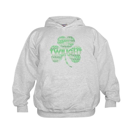 Twilight Shamrock Kids Hoodie
