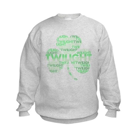 Twilight Shamrock Kids Sweatshirt