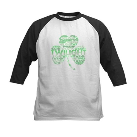 Twilight Shamrock Kids Baseball Jersey