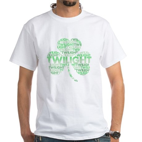 Twilight Shamrock White T-Shirt
