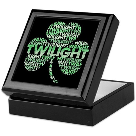 Twilight Shamrock Keepsake Box