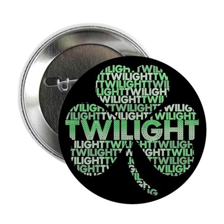 Twilight Shamrock 2.25&quot; Button