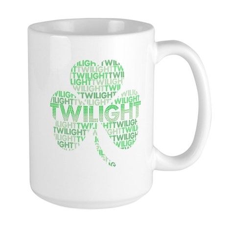 Twilight Shamrock Large Mug