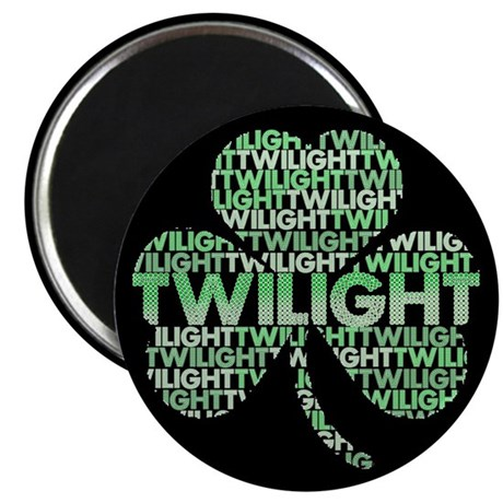 Twilight Shamrock 2.25&quot; Magnet (10 pack)