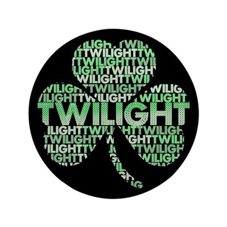 Twilight Shamrock 3.5&quot; Button (100 pack)